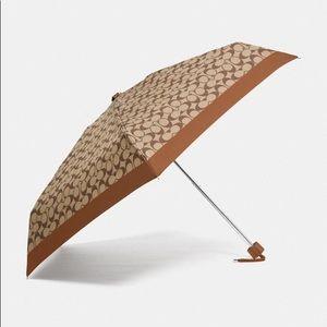 NEW WITH TAGS - Coach Signature Umbrella